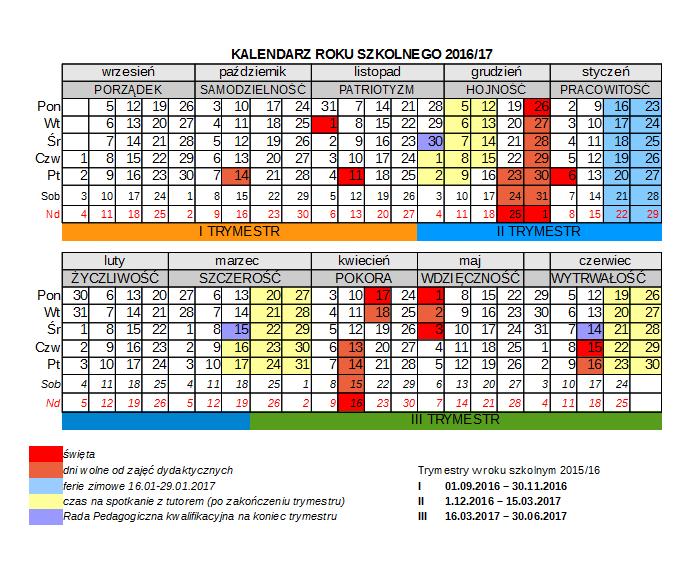 kalendarz-2016-2017